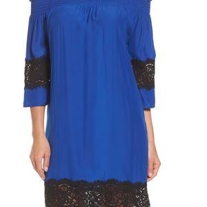 NEW Petite Medium off-shoulder shift dress